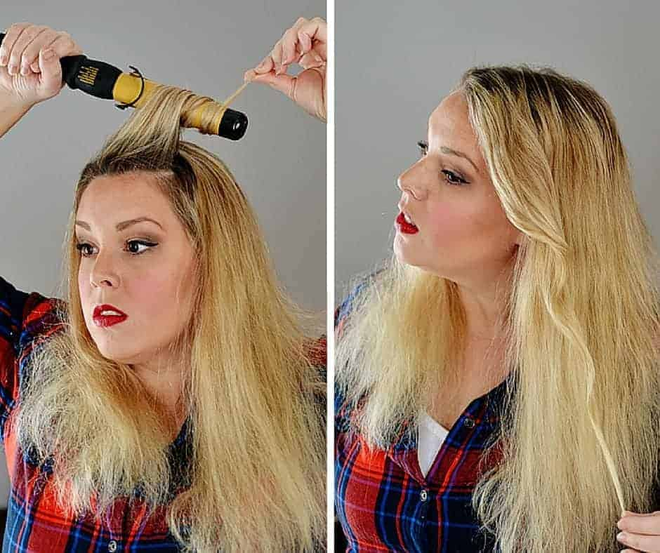 Lived in wavy hair tutorial bre pea urmus Gallery