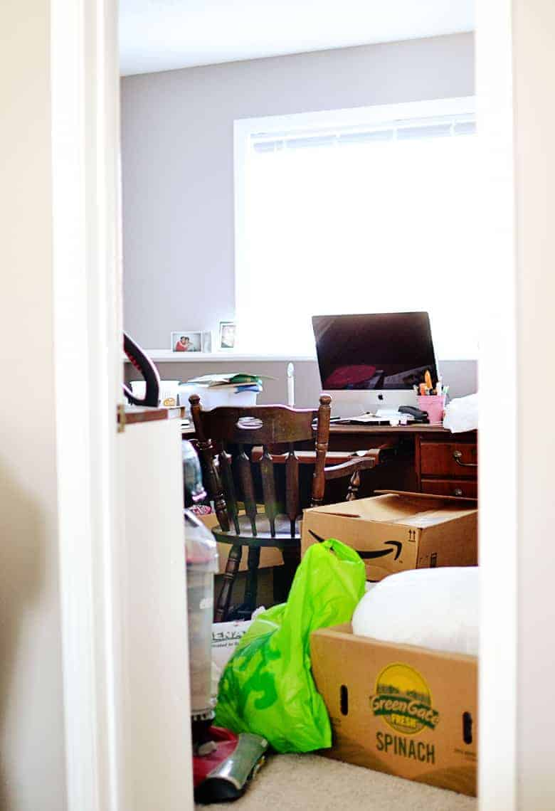 office decor inspiration. Home-office-organization-before Office Decor Inspiration R