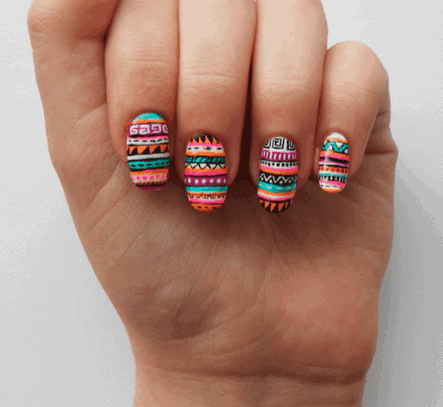 love list 16 favorite summer nail designs  bre pea