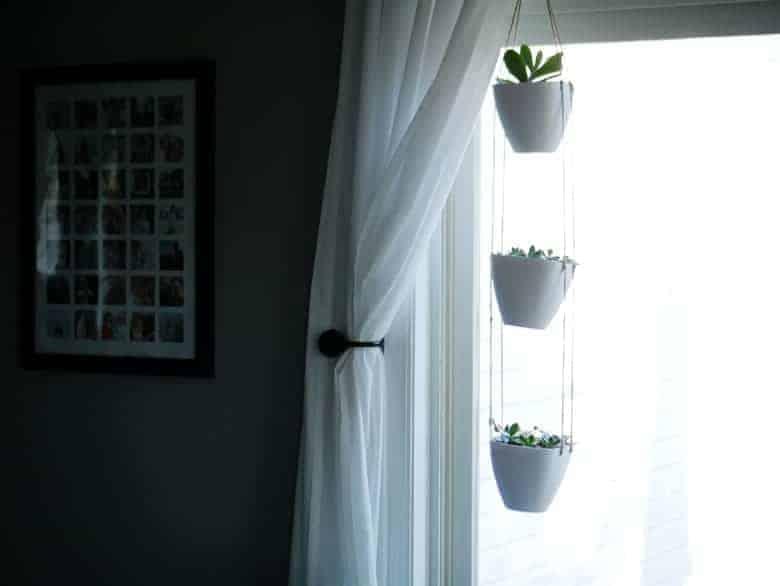 Diy 3 Tiered Hanging Indoor Planter Bre Pea