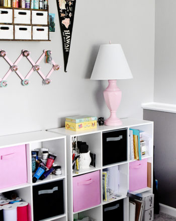Brilliant Craft Storage Ideas from the Thrift Store